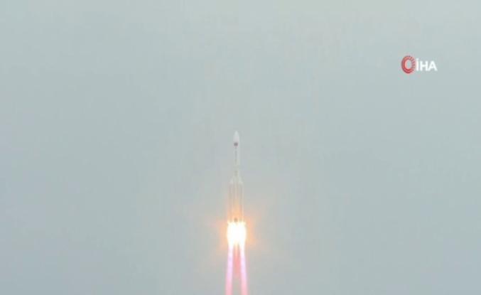 Çin Uzay İstasyonu'nun çekirdek modülü uzaya fırlatıldı