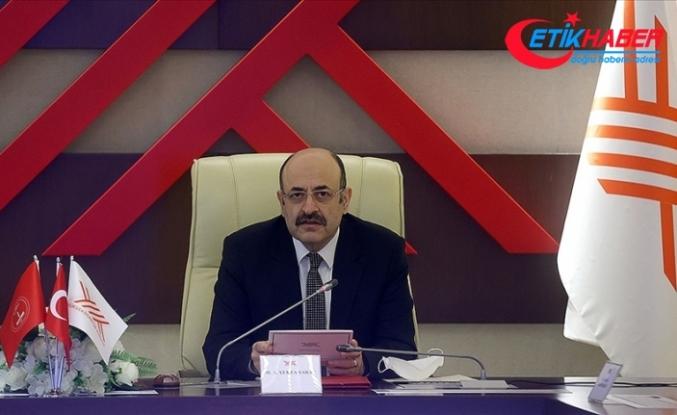 YÖK Başkanı Saraç 'Bölgesel Kalkınma Odaklı İhtisaslaşma Projesi'ndeki üniversitelerin rektörleriyle toplantı yaptı