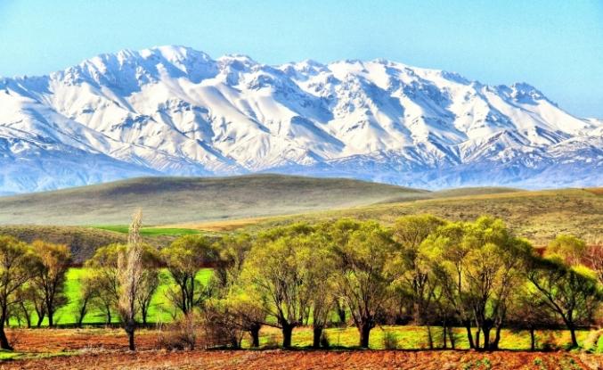Berit Dağında kartpostallık görüntüler