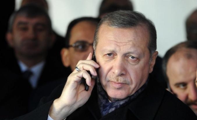 Cumhurbaşkanı Erdoğan, Cezayir Cumhurbaşkanı Tebbun ile telefonda görüştü