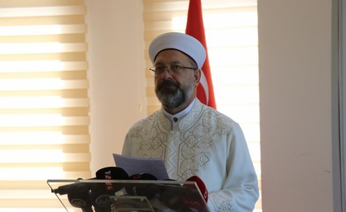 """Erbaş: """"İslam ümmeti tek yürek olarak her daim Kudüs'ü savunacaktır"""""""