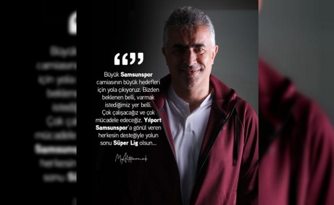 """Mehmet Altıparmak: """"Yolun sonu Süper Lig olsun"""""""