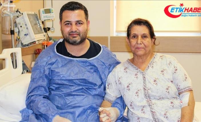 Organ bağışı ile sağlığına kavuştu