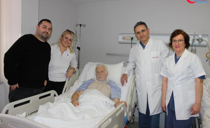 60 dakikalık kalp masajıyla hayata döndü