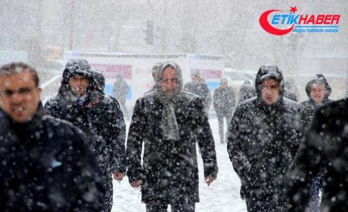 Doğu Anadolu kara teslim!