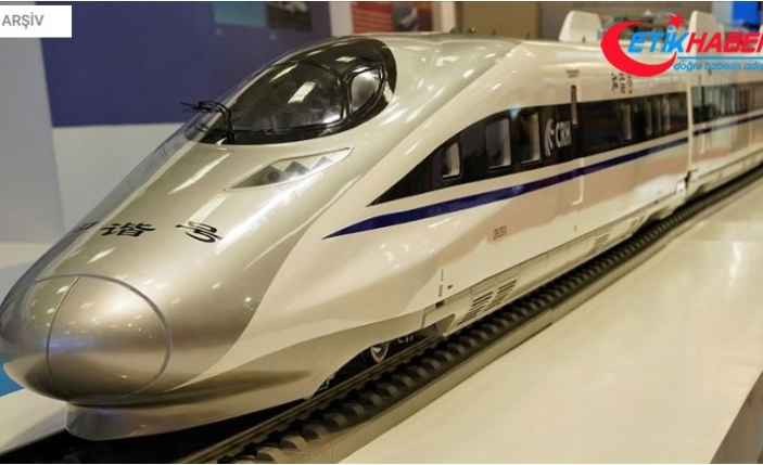 Çin 600 kilometre hızla gidecek trenin prototipini tanıttı