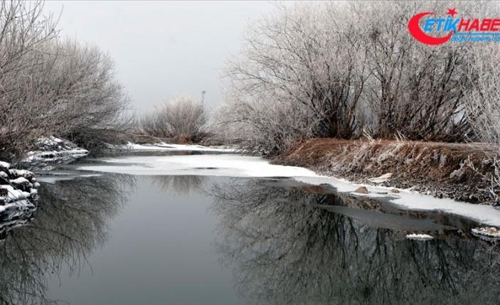 Doğu'da gece hava sıcaklığı sıfırın altında 6 dereceye düştü