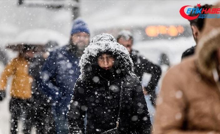 Doğu'da gece en düşük sıcaklık sıfırın altında 5 dereceyle Ardahan'da ölçüldü