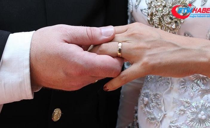 Türkiye'de geçen yıl Kovid-19'un da etkisiyle evlenme ve boşanmalar azaldı