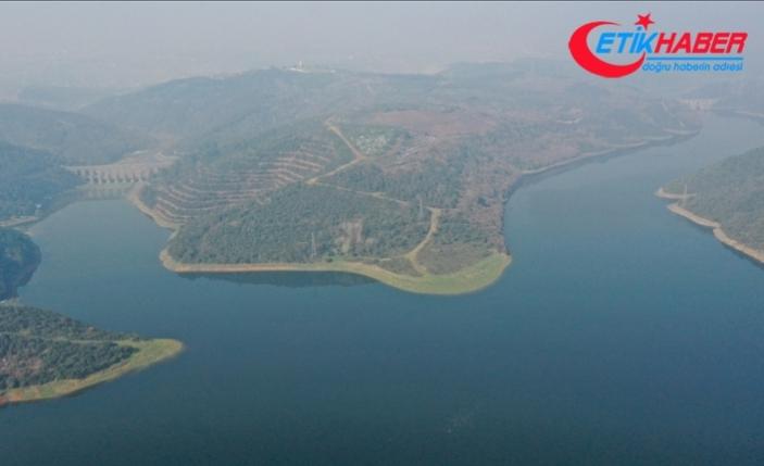 İstanbul'a su sağlayan barajlardaki toplam su miktarı 478 milyon metreküpe yükseldi
