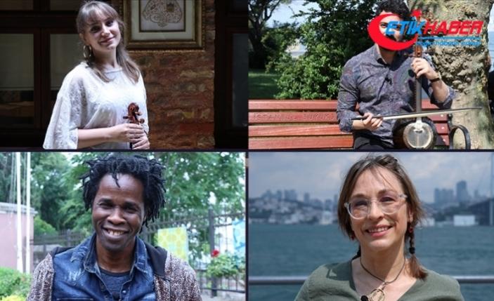 Türkiye'de yaşayan göçmen sanatçılar 'Dünya Mülteciler Günü' için bir araya geldi
