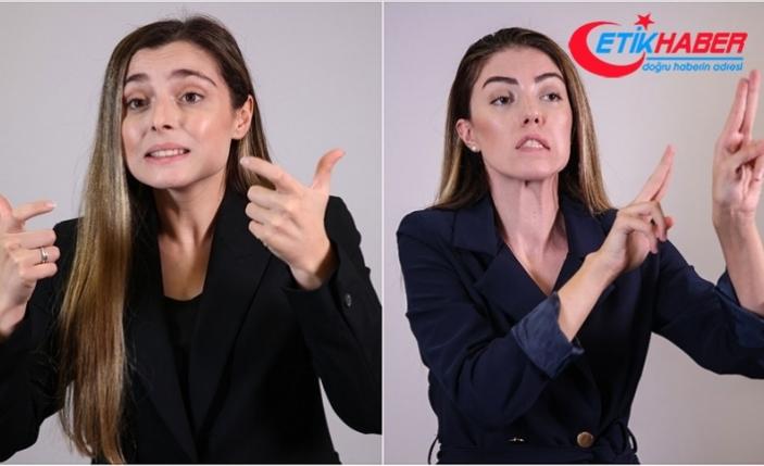 Çocukken ebeveynleriyle iletişim kurmak için öğrendikleri 'işaret dili' meslekleri oldu
