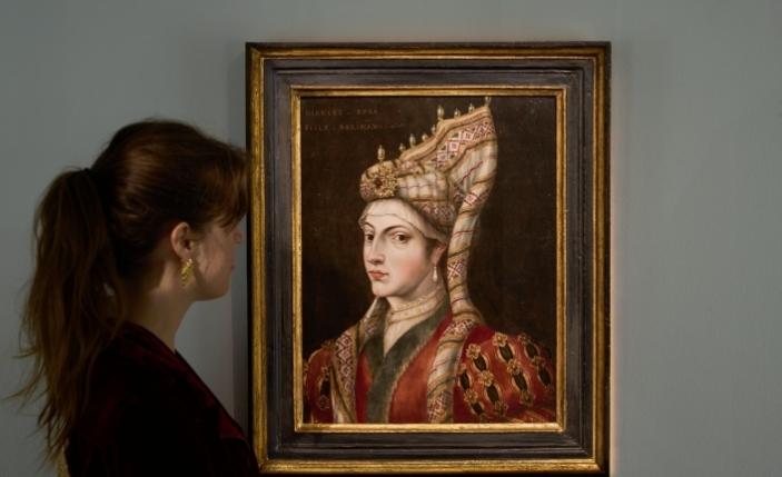 İngiltere'deki müzayedede Hürrem Sultan Portresi 126 bin pounda alıcı buldu