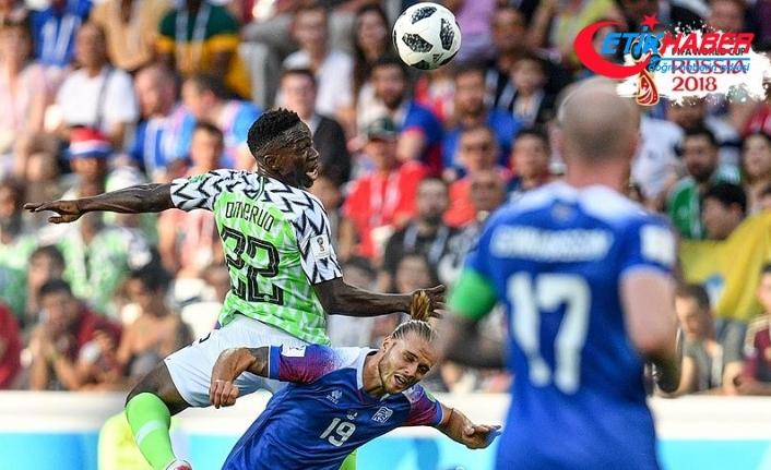 Nijerya, İzlanda'yı 2 golle geçti