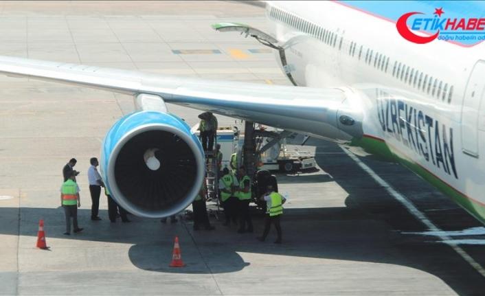 Özbekistan'da aşırı sıcaklar nedeniyle bazı uçuşlar durduruldu