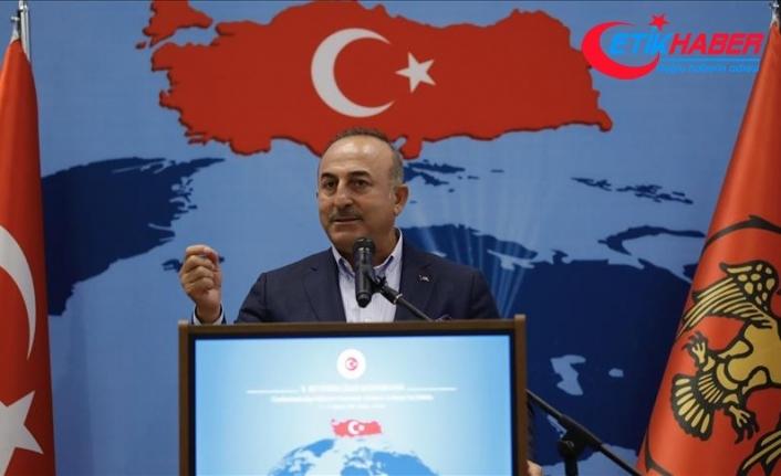 Çavuşoğlu: Türk milleti asla kimse karşısında boyun eğmez
