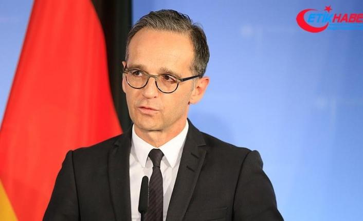 Alman Dışişleri Bakanı Maas Suudi Arabistan ziyaretini askıya aldı