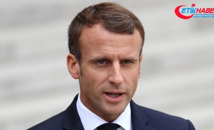 Macron: Ekonomik ve sosyal olağanüstü hal ilan edeceğim
