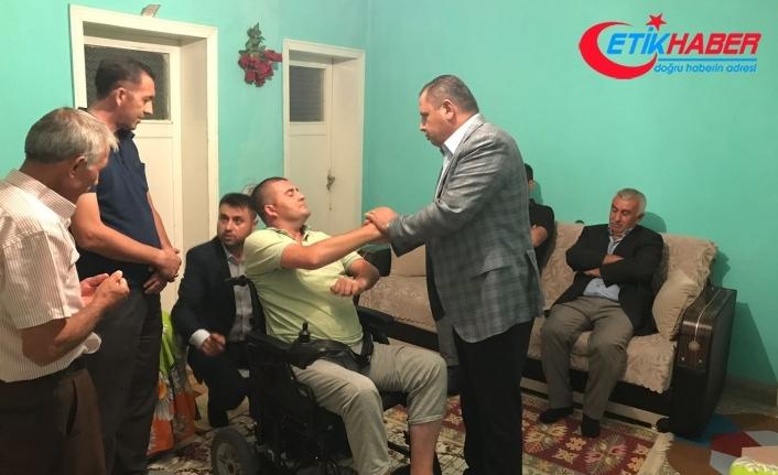 MHP'li Öztürk'ten Engelli Vatandaşlarımıza İstihdam Teklifi