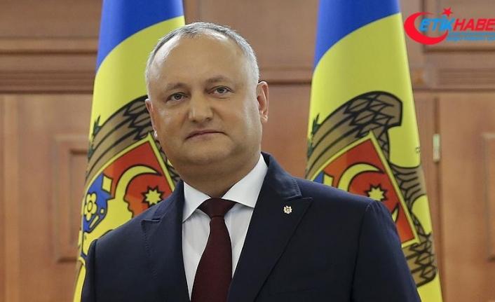 Moldova Cumhurbaşkanı Dodon: Türkiye Moldova'nın istikrarına katkıda bulundu