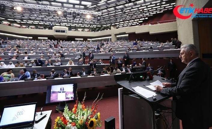 TBMM Başkanı Yıldırım'dan gelişmiş ülkelere göç eleştirisi