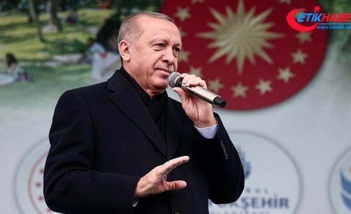 Cumhurbaşkanı Erdoğan: Teröristleri açtıkları çukurlara gömmeye devam edeceğiz