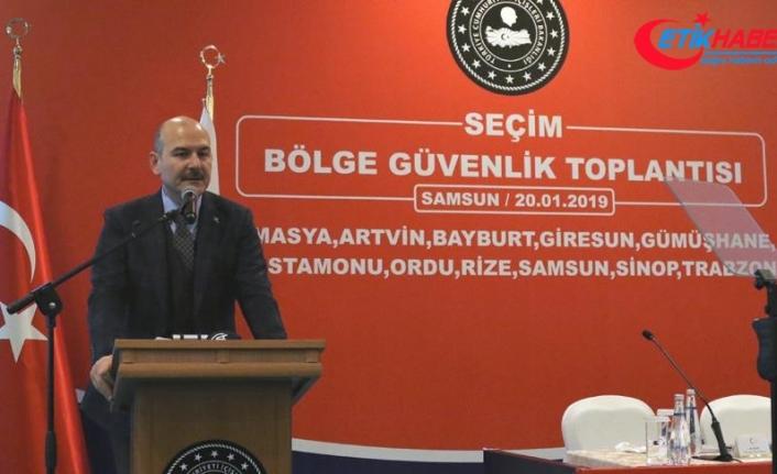 İçişleri Bakanı Soylu: Seçim sürecinde belli güç merkezleri pozisyon almak istemektedir