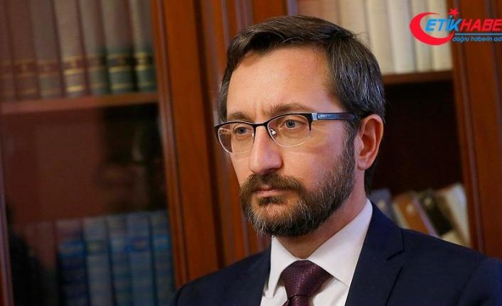 İletişim Başkanı Altun: Zeytin Dalı Harekatı ile terör koridoru oluşturma projesini çökerttik