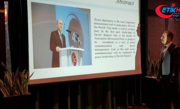 Devlet Bahçeli bildirisine Roma'da akademik ödül