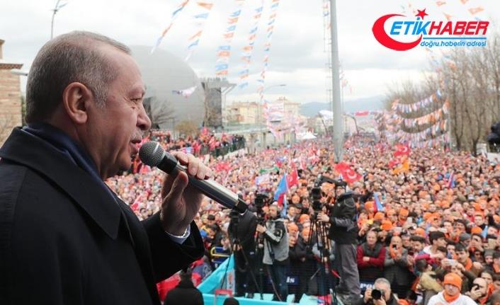 Erdoğan: Kimsenin milletimize karamsarlık aşılamasına izin vermeyeceğiz