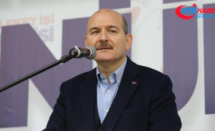 İçişleri Bakanı Süleyman Soylu: Onlara 'milletin vekili' demenin doğru olmadığını iddia ediyorum