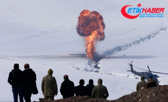 TSK'dan Kars'ta nefes kesen kış tatbikatı