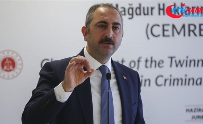 Adalet Bakanı Gül: Yargının 'pardon' deme lüksü yok