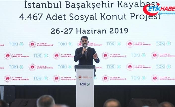 Çevre ve Şehircilik Bakanı Kurum: İmar barışına 10 milyon 250 bin başvuru oldu