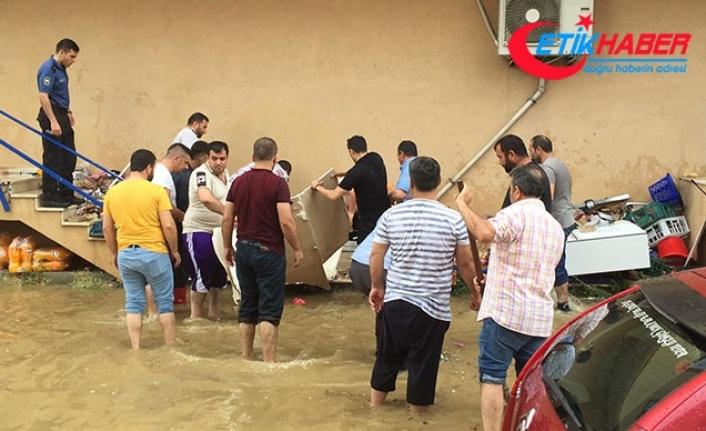 Darıca'da sel felaketi! Acı haber geldi