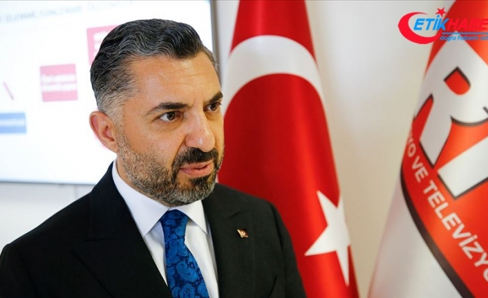 RTÜK Başkanı Şahin: Gençlerin günde ortalama 2 saat 13 dakikası internette geçiyor