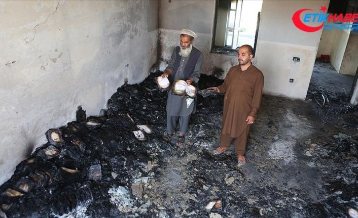 Afganistan'da Taliban kız lisesini ateşe verdi