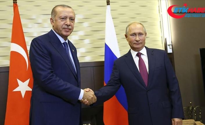 Cumhurbaşkanı Erdoğan ile Putin telefonda Suriye ve Libya'daki gelişmeleri görüştü
