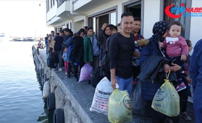 Çanakkale'de 302 düzensiz göçmen yakalandı