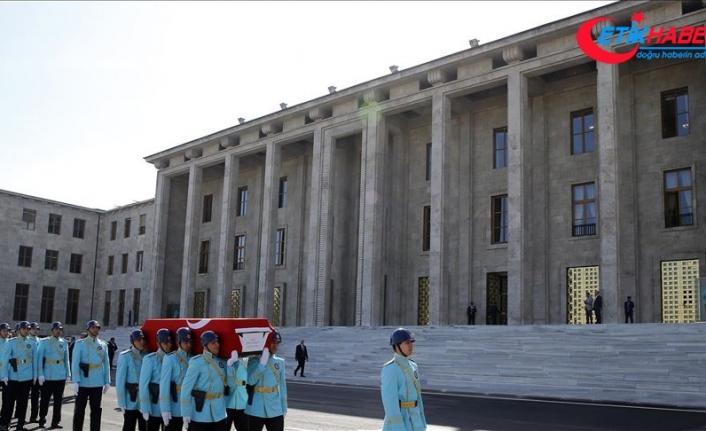Eski milletvekili Tosyalıoğlu için TBMM'de cenaze töreni