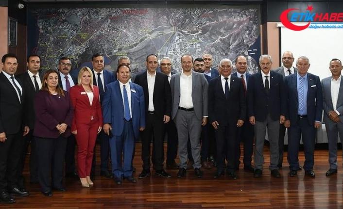 KKTC belediye başkanlarından Barış Pınarı Harekatı'na destek
