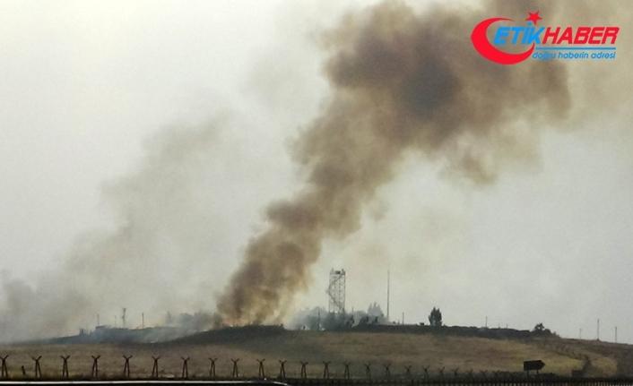 Nusaybin'de karakol yakınına havan topu düştü