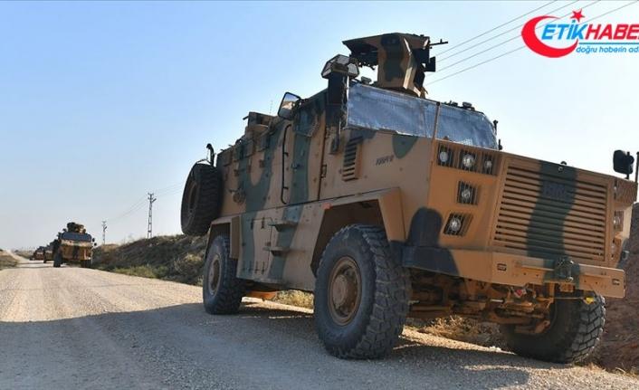 Türk ve Rus askerlerinin Fırat'ın doğusundaki 7'nci kara devriyesi tamamlandı