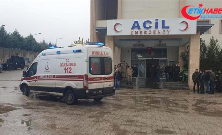 Şırnak'ta PKK'lı teröristlerce tuzaklanan el yapımı patlayıcı infilak etti: 2 şehit, 7 yaralı