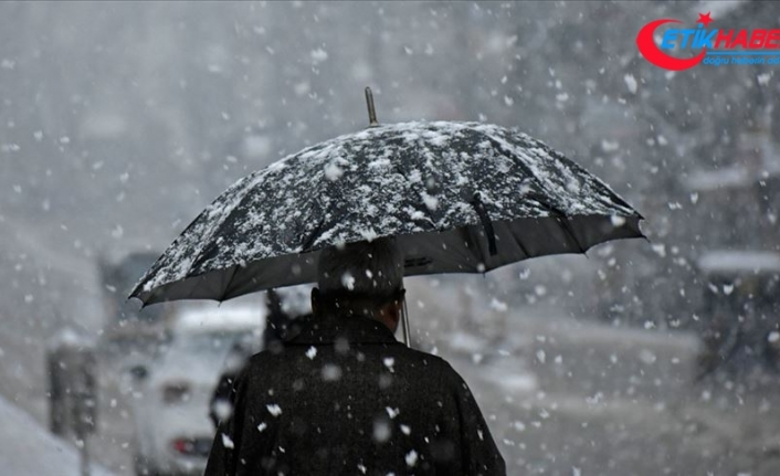 İç Anadolu, Karadeniz ve Doğu Anadolu için kar uyarısı