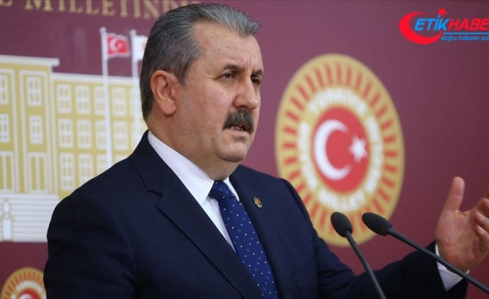 BBP Genel Başkanı Destici: PKK'nın kendisi olan HDP nasıl siyasi parti olarak görülüyor?
