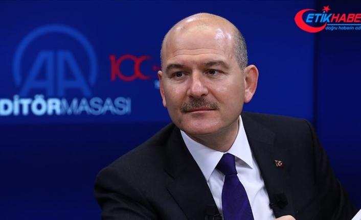 İçişleri Bakanı Soylu: İkna çalışmalarıyla bu yıl 48 terörist örgütten ayrıldı