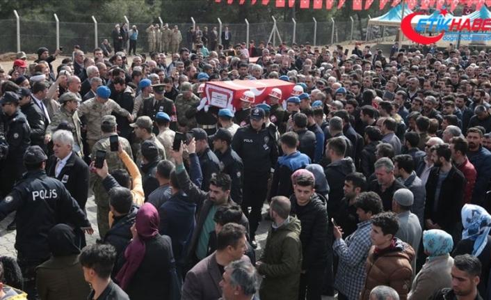 İdlib şehidi Uzman Çavuş Baykuş son yolculuğuna uğurlandı