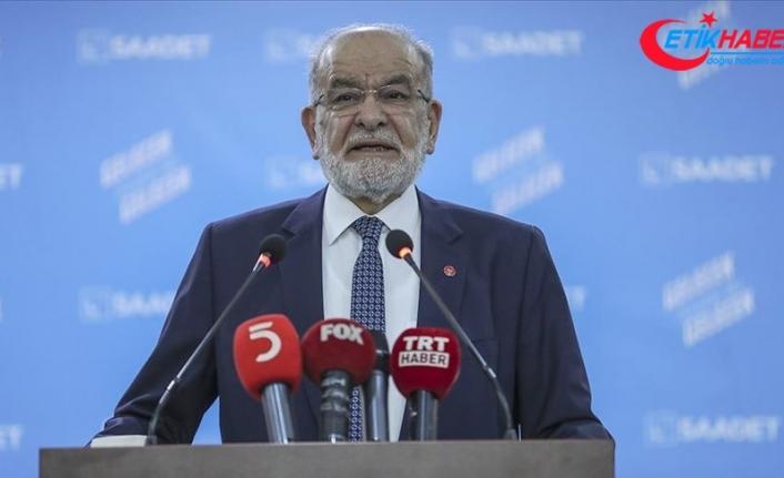 Saadet Partisi Genel Başkanı Karamollaoğlu, Necmettin Erbakan'ı andı