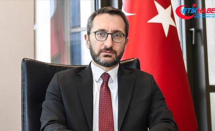 """İletişim Başkanı Altun: """"Milli Dayanışma Kampanyası'na destek devam ediyor"""""""